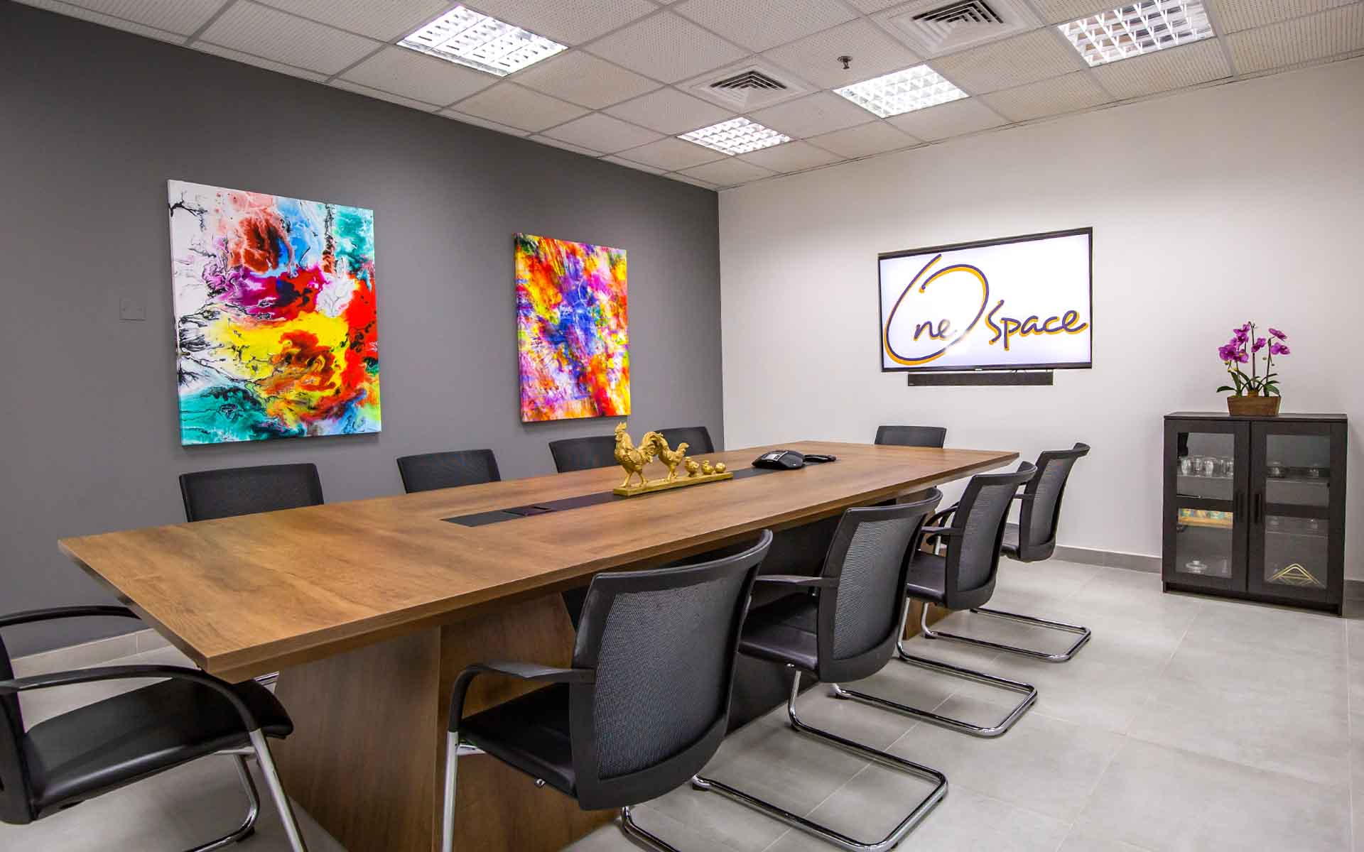 onespace gallery meeting room